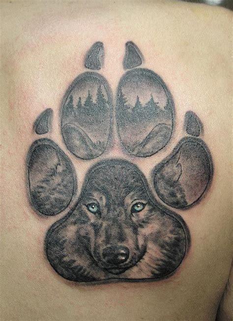 ideas  wolf paw tattoos  pinterest wolf
