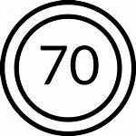 Speed Limit Icon Icons Flaticon Lineal