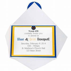 blue and gold program template blue and gold invitation With cub scout blue and gold program template