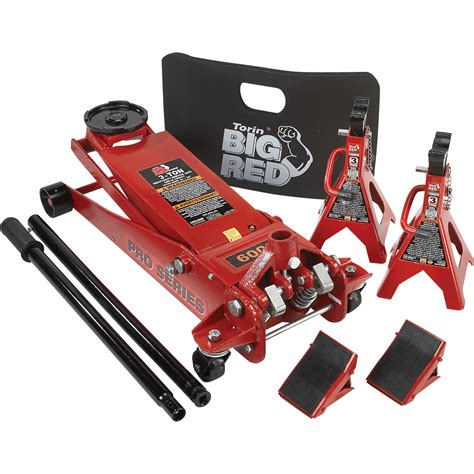product torin professional service 3 ton jack stands