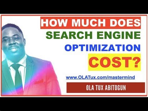 Search Engine Optimization Cost by How Much Does Search Engine Optimization Cost Cost Of Seo