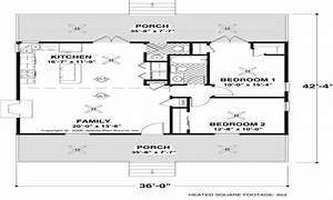 Small House Floor Plans Under 1000 Sq FT small house floor ...