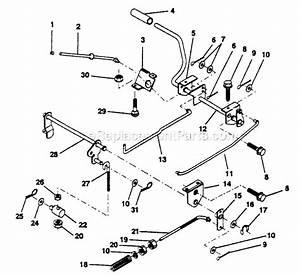 Poulan Pp11536ka Parts List And Diagram