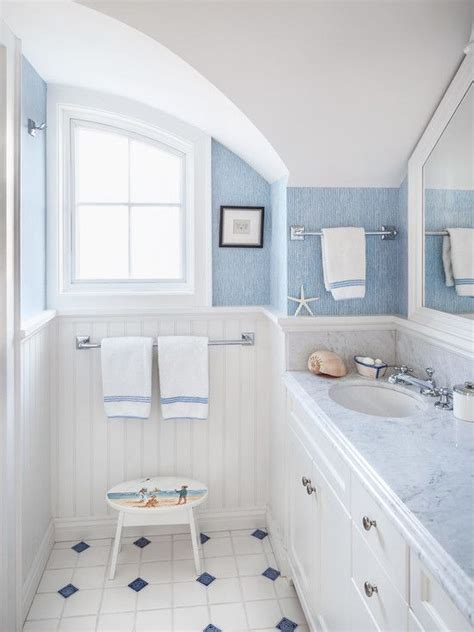 Bathroom Ideas Blue And White by 36 Blue And White Bathroom Floor Tile Ideas And Pictures 2019