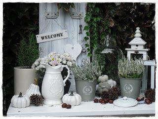 Herbstdeko Garten Vintage by Herbstdeko Weiss Suche Autumn Deko Herbst