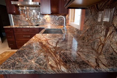 Rainforest Brown Granite Kitchen In Bowie, Md. Stone Kitchen. 48 Inch Console Table. Kitchen Pics. Contemporary Kitchen Design. Dining Table Centerpieces. How To Clean Brushed Nickel Faucet. Rustic Bar. Standard Garage Door Height