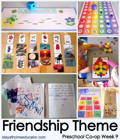 preschool co op week 9 friendship theme 573 | Preschool Co op Week 9 Friendship Theme
