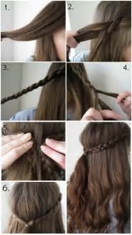 quick easy braid hairstyle lauren victoria beauty