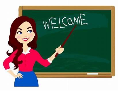 Teacher Cartoon Education Classroom Student Transparent Welcome