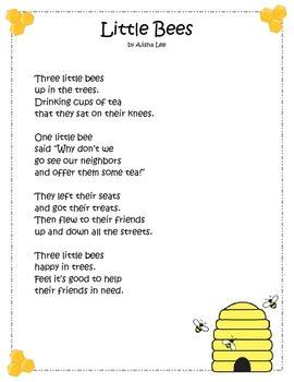 long   bees fluency poster tpt