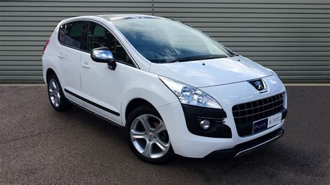 used peugeot used peugeot 3008 hatchback 1 6 hdi fap allure 5dr 2013