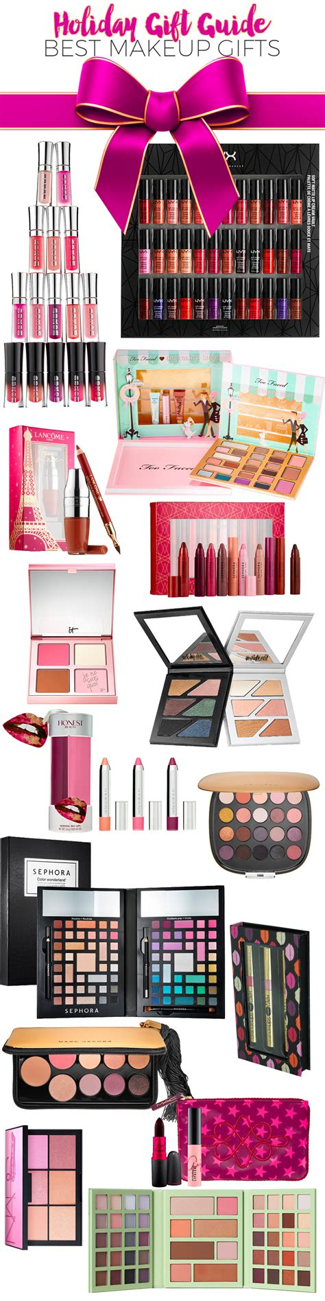 holiday gift guide 2016 best makeup gifts beautiful