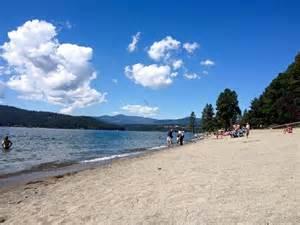 Lake Coeur D Alene Beaches