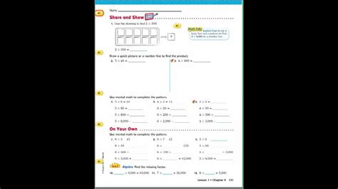 math grade  lesson  answer key thaipolicepluscom