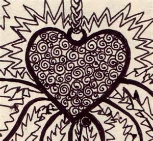 Cool Looking Hearts Drawings