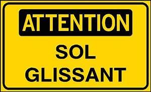 Astuce Pour Sol Glissant : attention sol glissant stf 3121s direct signal tique ~ Premium-room.com Idées de Décoration
