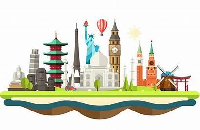 Landmarks Clipart Travel Transparent Place Tour Spain