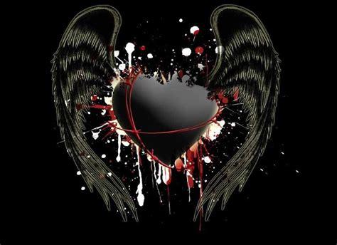 wings heart hd wallpapers