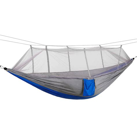 Travel Hammock With Mosquito Net by Portable Parachute Cing Travel Hammock With Mosquito