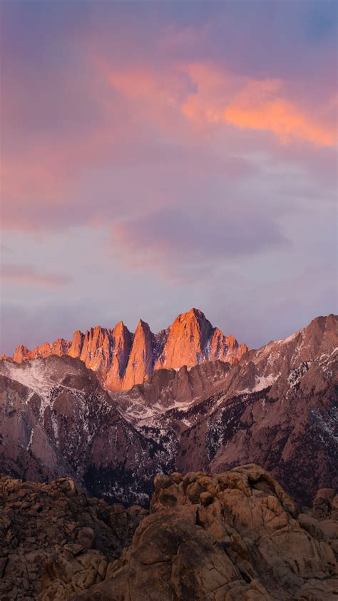 wallpaper mountains macos   sierra sky iphone