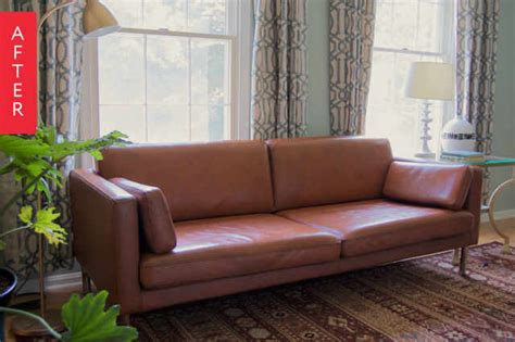 Apartment Therapy Leather Sofa by How To Paint Leather Sofa Www Gradschoolfairs