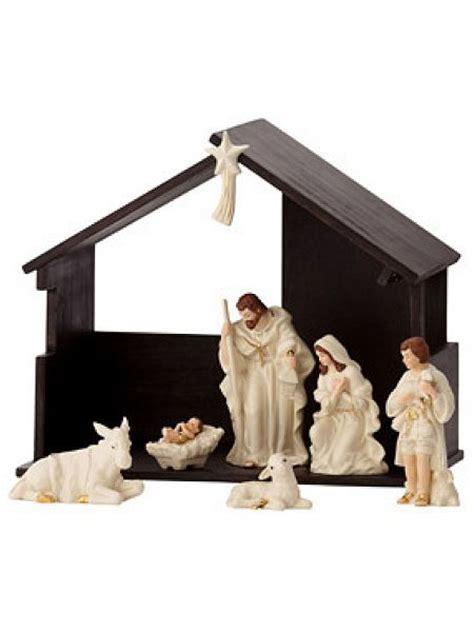 belleek living classic nativity set house of fraser