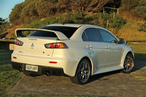 Mitsubishi X by Mitsubishi Lancer Evolution X Review Caradvice