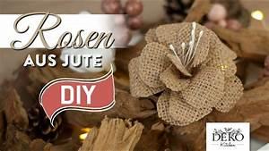 Deko Kitchen : diy rosen aus jute f r tolle herbst dekos deko kitchen youtube ~ A.2002-acura-tl-radio.info Haus und Dekorationen