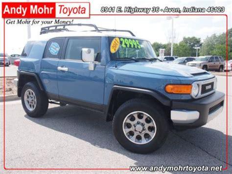 Buy Used 2011 Toyota Fj Cruiser Base In 8941 E. Us Highway