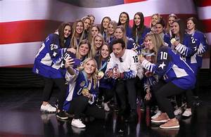 "US Women's Hockey Team Appears On ""The Tonight Show ..."