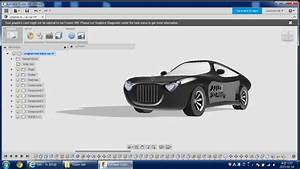 The first car modeling Autodesk Online Gallery