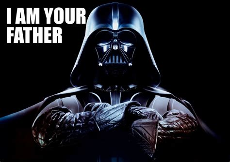 Pictures Of Darth Vader Darth Vader I Am Your Father Star Wars Quote A3 A4 Poster Ebay
