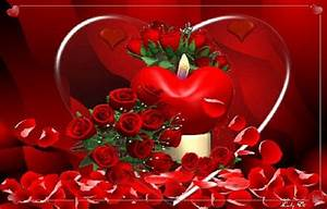 red roses love heart wallpapers - DriverLayer Search Engine