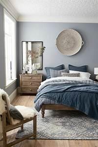 Wohnideen Für Schlafzimmer : trendige farben fabelhafte schlafzimmergestaltung in grau blau ~ Michelbontemps.com Haus und Dekorationen