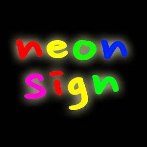 App neon signage display APK for Windows Phone