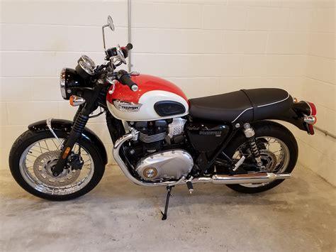 Triumph Bonneville T100 2019 by 2019 Triumph Bonneville T100 Motorcycles Port Clinton