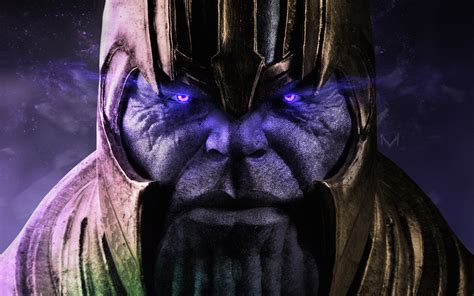 Thanos Artwork 4k Wallpapers Hd Wallpapers Id 24784