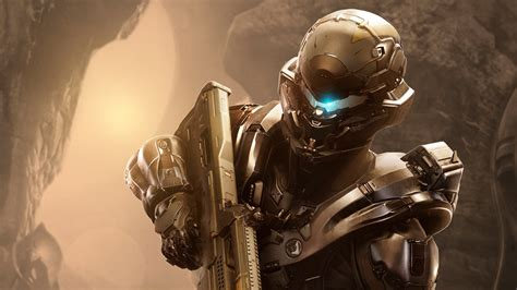 full hd wallpaper halo  guardians armor helmet soldier