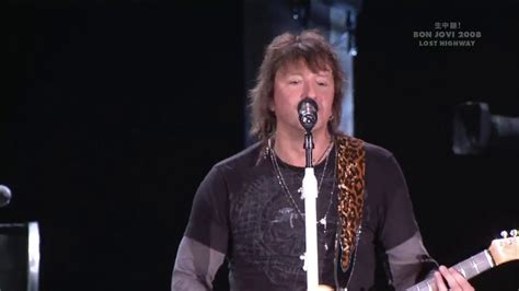 Richie Sambora These Days Bon Jovi Youtube