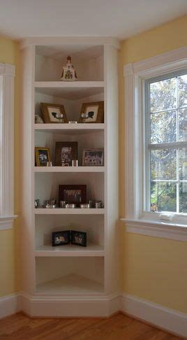 corner shelf idea  living room    build