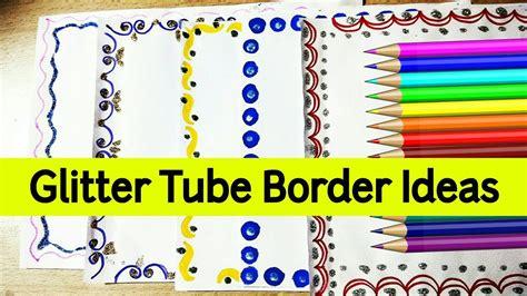 border design ideas  school projects design bild