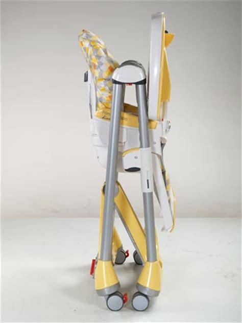 peg perego baby highchair high chair prima pappa theo giallo
