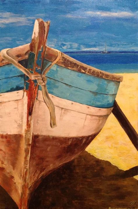 Boat On Beach Drawing by Best 25 Boat Art Ideas On Pinterest Boat Painting
