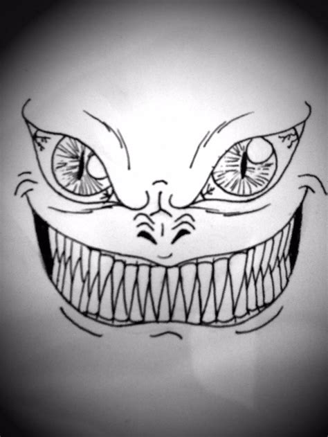 drawing scary face eileens art project ness