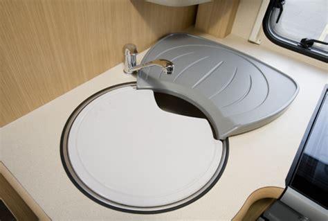 caravan kitchen sink bessacarr e665 review bessacarr motorhomes practical 1991