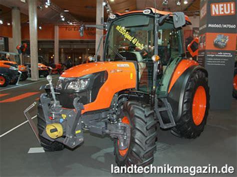 agritechnica russische traktoren für deutsche kubota zeigt neue m6060 und m7060 traktoren auf der