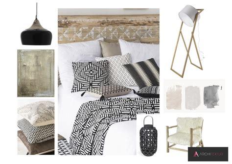 couleurs chambre à coucher planche tendance chambre parentale