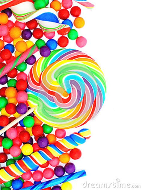 candy border stock photography image