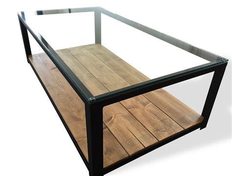 table basse verre bois table basse en bois et verre id 233 es de d 233 coration