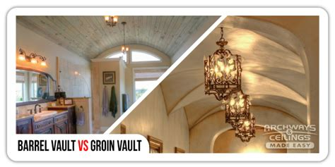 Barrel Groin Vaulted Ceilings by Barrel Vault Vs Groin Vault Archways Ceilings